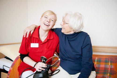 Ausbildung: examinierte Altenpflegefachkraft