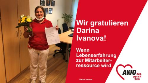 Wir gratulieren Darina Ivanova!
