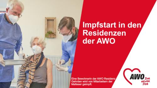 Impfstart in den Pflegeheimen der AWO Region Hannover
