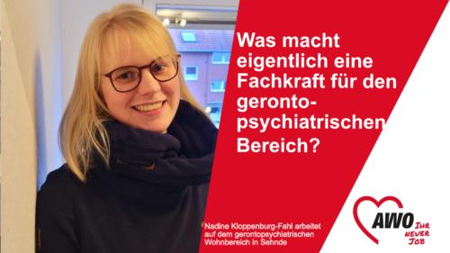 Was macht eigentlich eine Fachkraft für den gerontopsychiatrischen Bereich?