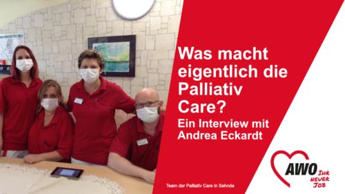 Was macht eigentlich die Palliativ Care?